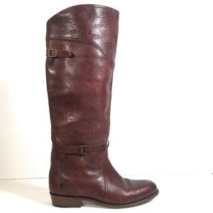 Frye Dorado 77563 Women Riding Knee Boots 10 M